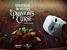 Играть в онлайн-зале в Universal Monsters The Phantoms Curse Video Slot